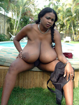 Huge natural boobs ebony miosotis..