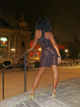 Beautiful French ebony girl..