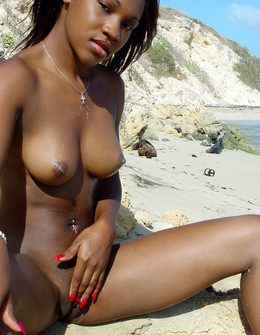 Cute african beauties with smooth..