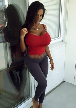 Charming ebony latina with incredibly..
