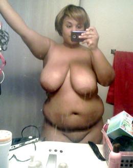 You guys want a big black women, you..