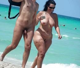 Black nudist! Public nude old black..