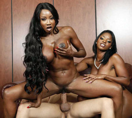 Jasmine Webb and Diamond Jackson..