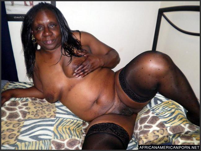 black Ebony stockings mature
